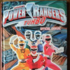 Figuras y Muñecos Power Rangers: POWER RANGERS TURBO OFFICIAL ANNUAL 1997 - LIBRO TAPA DURA EN INGLES -. Lote 152312594