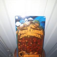 Figuras y Muñecos Power Rangers: POWER RANGERS DINOTHUNDER DINO THUNDER BANDAI ROJO. Lote 152475805