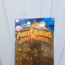 Figuras y Muñecos Power Rangers: POWER RANGERS DINOTHUNDER DINO THUNDER BANDAI AZUL. Lote 152476121