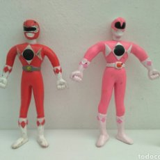 Figuras y Muñecos Power Rangers: FIGURAS DE ACCIÓN POWER RANGERS FLEXIBLE. Lote 152895430