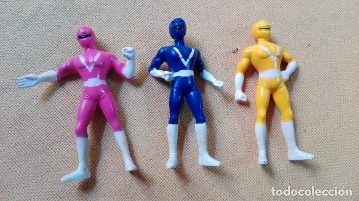 LOTE DE MINI FIGURAS POWER RANGERS (Juguetes - Figuras de Acción - Power Rangers)