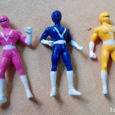 Figuras y Muñecos Power Rangers: LOTE DE MINI FIGURAS POWER RANGERS. Lote 153700854