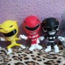 Figuras y Muñecos Power Rangers: COLECCIÓN COMPLETA FIGURAS POWER RANGERS BURGER KING. Lote 153863166