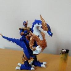 Figuras y Muñecos Power Rangers: FIGURA DE COLECCION POWER RANGERS MYSTIC FORCE .RANGER AZUL JINETE DE DRAGON.-COMO NUEVO. Lote 154234130