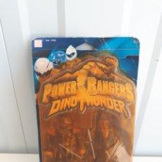 Figuras y Muñecos Power Rangers: POWER RANGERS DINOTHUNDER DINO THUNDER NEGRO BANDAI EN BLISTER. Lote 154372584