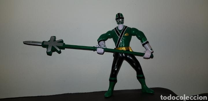 FIGURA TIPO POWER RANGERS BANDAI 2012 RETROVINTAGEJUGUETES BBB (Juguetes - Figuras de Acción - Power Rangers)