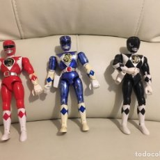 Figuras y Muñecos Power Rangers: 3 POWER RANGERS. Lote 157557858