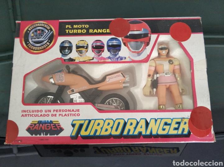PL MOTO TURBO RANGER TURBORANGER (Juguetes - Figuras de Acción - Power Rangers)