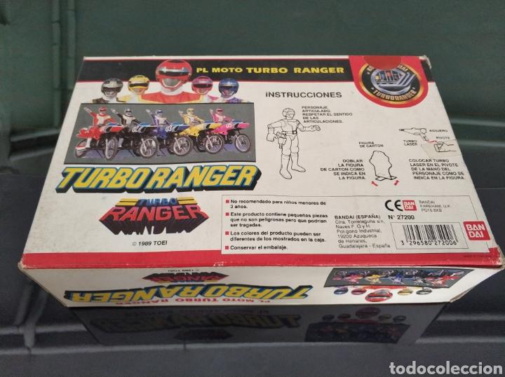 Figuras y Muñecos Power Rangers: Pl moto Turbo Ranger Turboranger - Foto 2 - 157798674