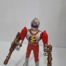 Figuras y Muñecos Power Rangers: FIGURA MEGA POWER FIGHTER 1994 BOOTLEG POWER RANGERS CON ARMAS. Lote 158004950