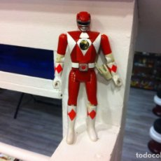 Figuras y Muñecos Power Rangers: FIGURA POWER RANGERS. RED. ALTURA: 14CM. 1993, BANDAI, CHINA. Lote 158442814