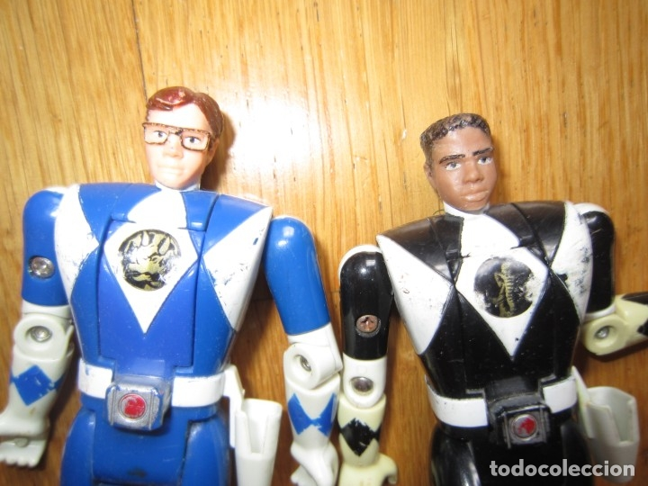 Figuras y Muñecos Power Rangers: POWER RANGERS DE BANDAI. CABEZA GIRATORIA. AÑO 1993. 1ª GENERACION - Foto 6 - 163973989