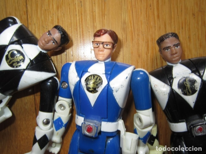 Figuras y Muñecos Power Rangers: POWER RANGERS DE BANDAI. CABEZA GIRATORIA. AÑO 1993. 1ª GENERACION - Foto 10 - 163973989