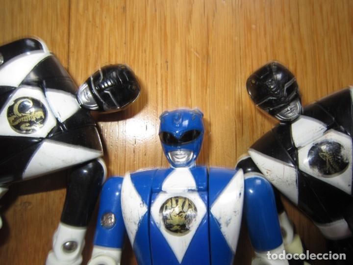Figuras y Muñecos Power Rangers: POWER RANGERS DE BANDAI. CABEZA GIRATORIA. AÑO 1993. 1ª GENERACION - Foto 9 - 163973989