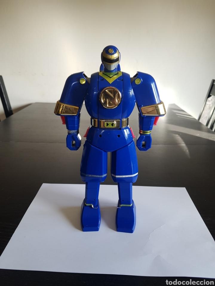 FIGURA DE POWER RANGERS,BANDAI 1995 AUTO MORPHIN NINJOR MEGAZORD (Juguetes - Figuras de Acción - Power Rangers)