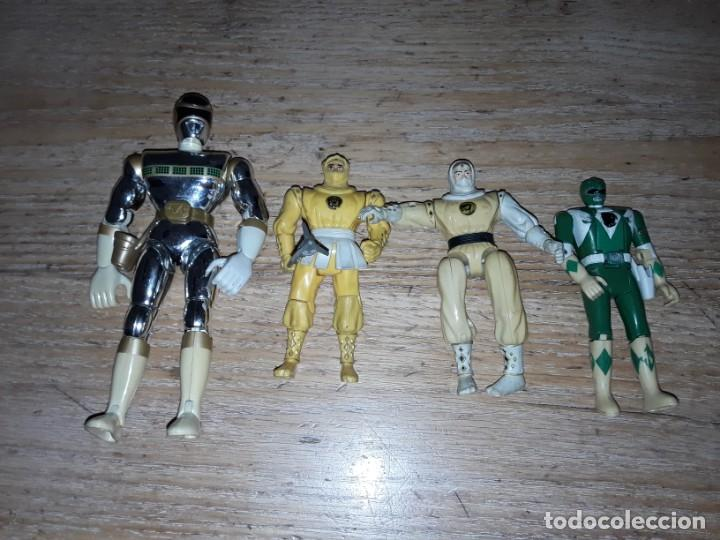 POWER RANGERS ANTIGUOS, FUNCIONANDO. (Juguetes - Figuras de Acción - Power Rangers)