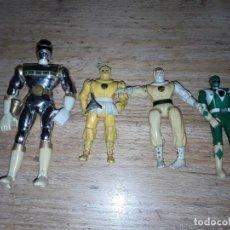 Figuras y Muñecos Power Rangers: POWER RANGERS ANTIGUOS, FUNCIONANDO.. Lote 160241422