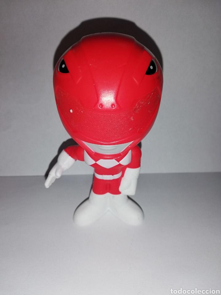 FIGURA POWER RANGER ROJO BURGUER KING (Juguetes - Figuras de Acción - Power Rangers)