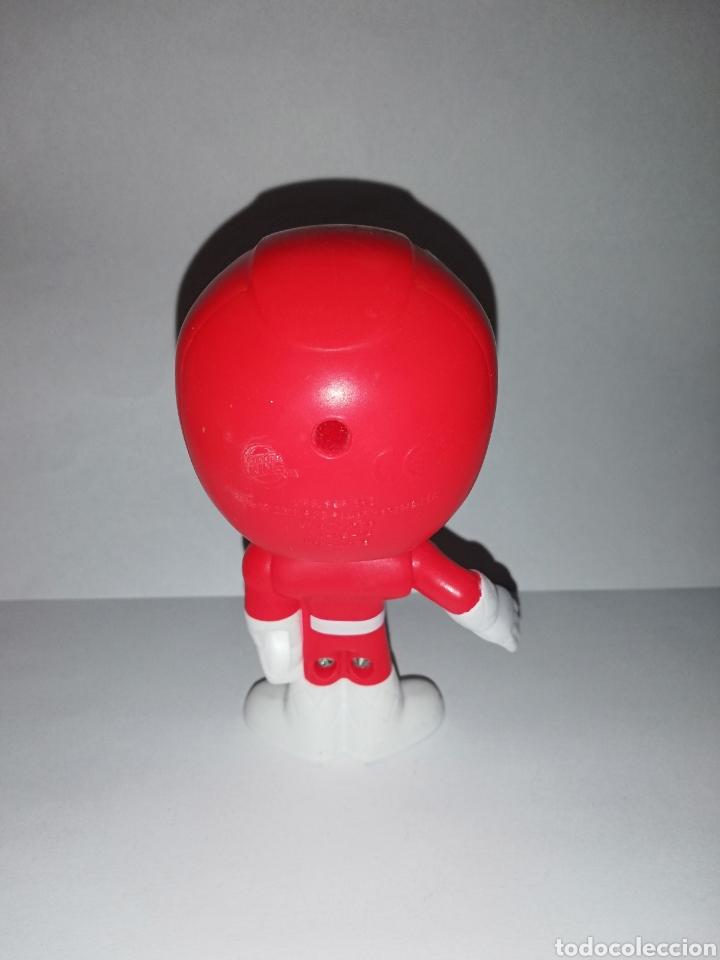 Figuras y Muñecos Power Rangers: Figura Power Ranger rojo Burguer King - Foto 2 - 160404402