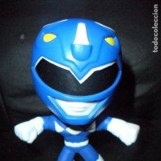 Figuras y Muñecos Power Rangers: RANGER AZUL FIGURA CABEZONA - POWER RANGERS 1ª SERIE - FIGURA MCDONALDS - . Lote 160963310