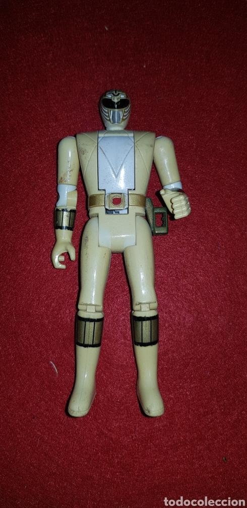 MIGHTY MORPHIN POWER RANGERS AUTO MORPHIN FIGURA DE 14 CM BANDAI 1993 (Juguetes - Figuras de Acción - Power Rangers)