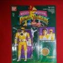 Figuras y Muñecos Power Rangers: BLISTER BANDAI AUTO MORPHIN POWER RANGERS 1993/1994 MIGHTY MORPHIN TRINI AMARILLO. Lote 161170648