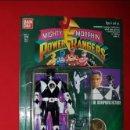Figuras y Muñecos Power Rangers: BLISTER BANDAI AUTO MORPHIN POWER RANGERS 1993/1994 MIGHTY MORPHIN ZACK NEGRO. Lote 161170784