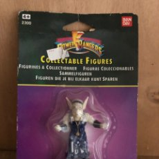 Figuras y Muñecos Power Rangers: POWER RANGERS MINIATURA A ESTRENAR 1990. Lote 161604421