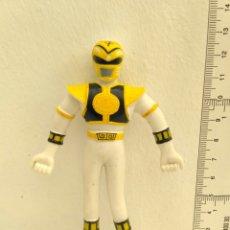 Figuras y Muñecos Power Rangers: FIGURA DE ACCIÓN POWER RANGERS FLEXIBLE BLANCO. Lote 162370864