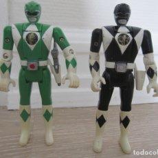 Figuras y Muñecos Power Rangers: 2 FIGURAS POWER RANGERS. BANDAI. 1993. Lote 162910978
