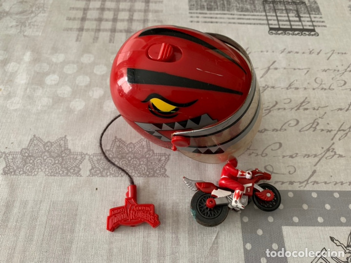 sexual Evaluable Indiferencia  Moto + casco power rangers - Sold through Direct Sale - 194641456
