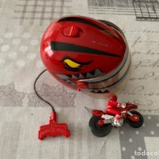 Figuras y Muñecos Power Rangers: MOTO + CASCO POWER RANGERS. Lote 194641456