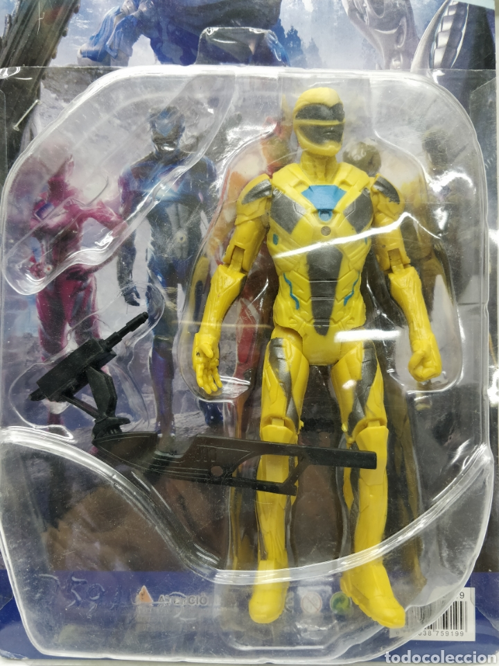 Figuras y Muñecos Power Rangers: Sabans Power Rangers Amarillo con armamento - Foto 2 - 165452242