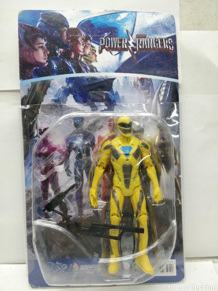 Figuras y Muñecos Power Rangers: Sabans Power Rangers Amarillo con armamento - Foto 4 - 165452242