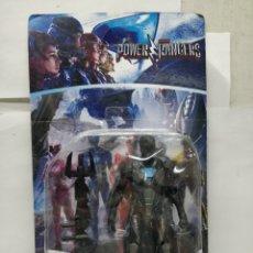 Figuras y Muñecos Power Rangers: SABAN'S POWER RANGERS - REF: 75919-34 - NEGRO Y AZUL CON ARMAMENTO. Lote 165452609