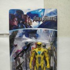 Figuras y Muñecos Power Rangers: SABAN'S POWER RANGER - REF: 7591-2 - MUÑECO DE ACCIÓN AMARILLO CON ARMAMENTO. Lote 165452908