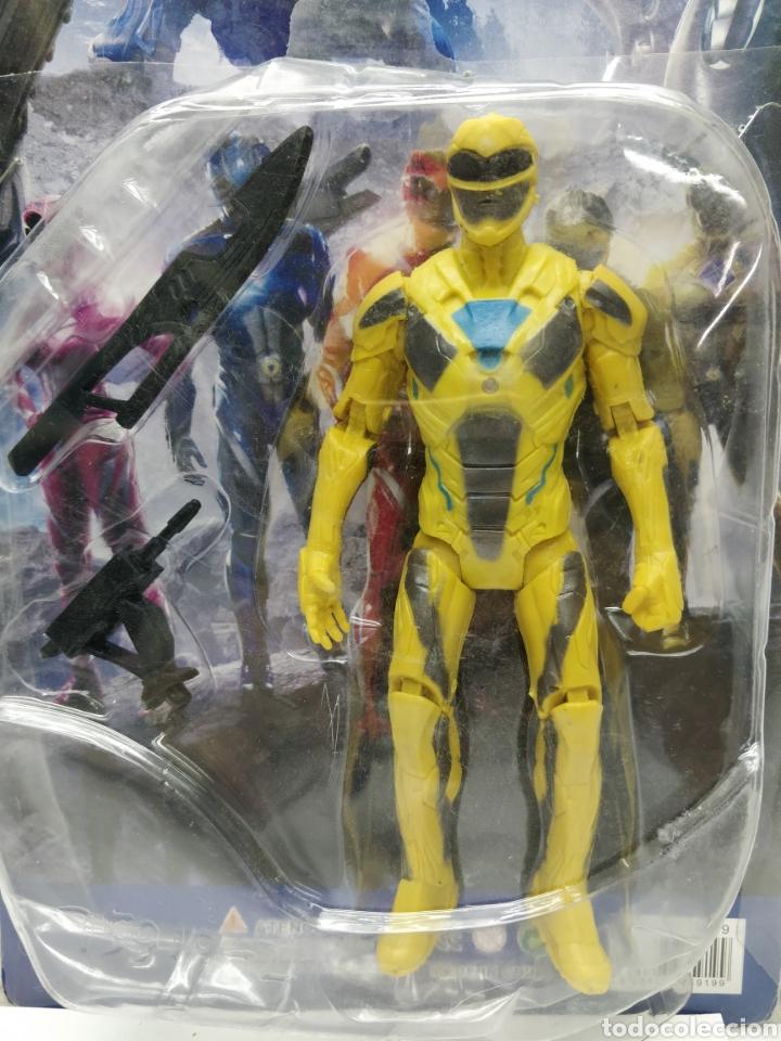Figuras y Muñecos Power Rangers: Sabans Power Ranger - Ref: 7591-2 - Muñeco de acción amarillo con armamento - Foto 2 - 165452908