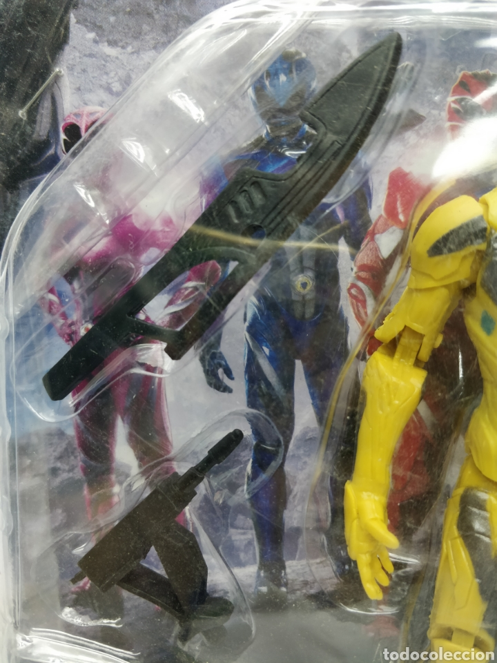 Figuras y Muñecos Power Rangers: Sabans Power Ranger - Ref: 7591-2 - Muñeco de acción amarillo con armamento - Foto 3 - 165452908