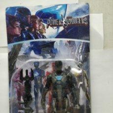 Figuras y Muñecos Power Rangers: SABAN'S POWER RANGERS - REF: 75919-34 - MUÑECO DE ACCIÓN NEGRO Y AZUL CON ARMAMENTO. Lote 165453184