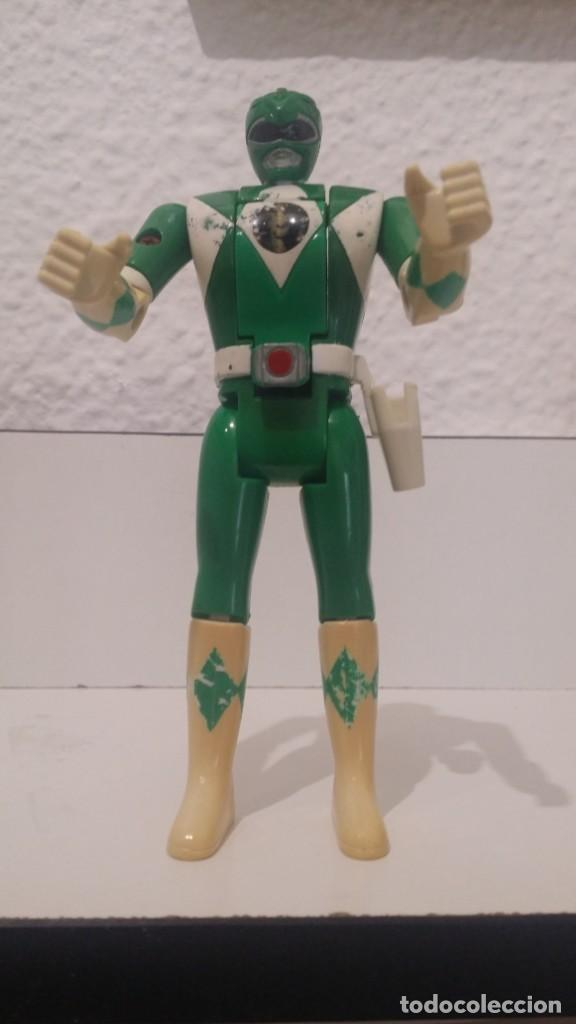 ª POWER RANGERS VERDE - MIGHTY MORPHIN - ORIGINAL BANDAI - AÑO1993 - VER FOTOS - LEER DESCRIPCIÓN (Juguetes - Figuras de Acción - Power Rangers)