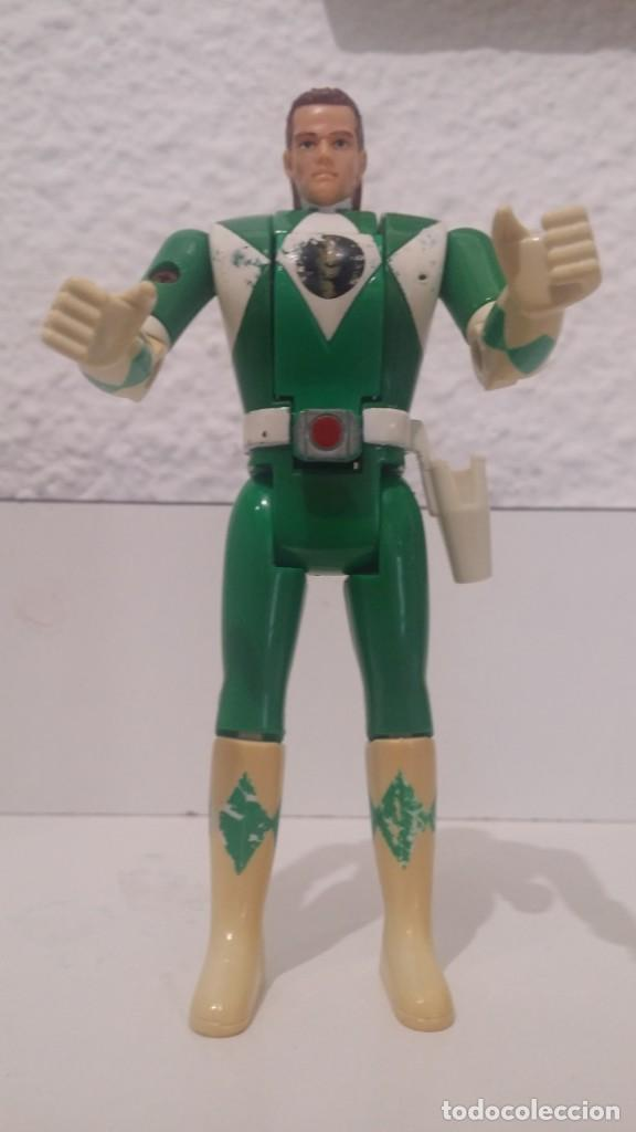 Figuras y Muñecos Power Rangers: ª POWER RANGERS VERDE - MIGHTY MORPHIN - ORIGINAL BANDAI - AÑO1993 - VER FOTOS - LEER DESCRIPCIÓN - Foto 2 - 165768662