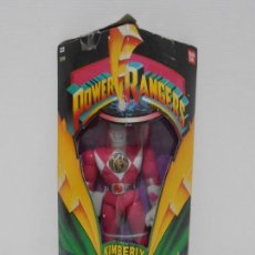 Figuras y Muñecos Power Rangers: FIGURA POWER RANGERS, KIMBERLY, PINK RANGER, EN CAJA SIN ABRIR, BANDAI. Lote 166125910