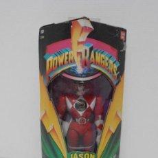 Figuras y Muñecos Power Rangers: FIGURA POWER RANGERS, JASON, RED RANGER, EN CAJA SIN ABRIR, BANDAI. Lote 166126074