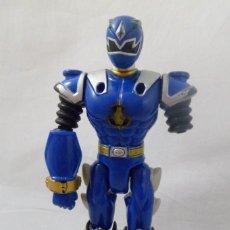 Figuras y Muñecos Power Rangers: MUÑECO POWER RANGER AZUL ARTICULADO. . BANDAI. 2003. Lote 166272318
