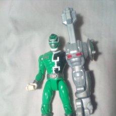 Figuras y Muñecos Power Rangers: POWER RANGER VERDE . Lote 167493816