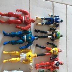 Figuras y Muñecos Power Rangers: LOTE NINJAS POWER RANGERS. Lote 167733353