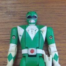 Figures and Dolls Power Rangers - Power Ranger verde cabeza giratoria Bandai - 168044138