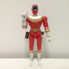 Figuras y Muñecos Power Rangers: FIGURA DEL RANGER ROJO DE LA SERIE POWER RANGERS ZEO - BANDAI 96 - CON SONIDO. Lote 169536128