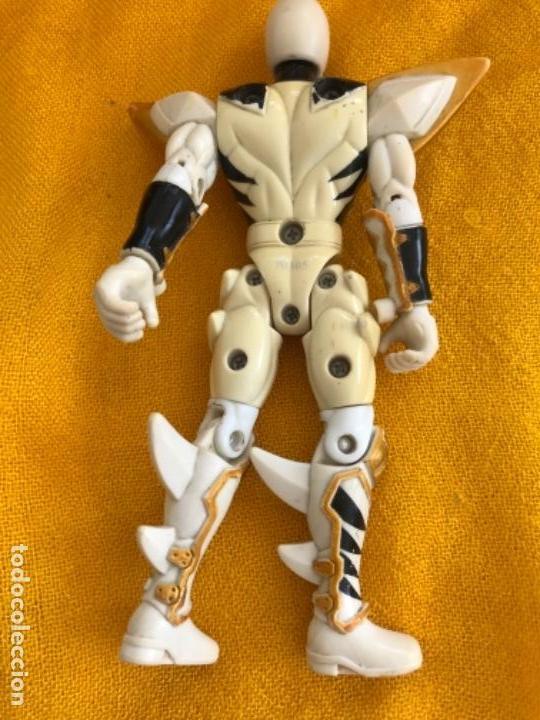 Figuras y Muñecos Power Rangers: ranger blanco 2003 dificil power ranger white articulado bandai 70305 ver fotos - Foto 9 - 171242194