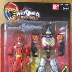 Figuras y Muñecos Power Rangers: POWERS RANGERS MYSTIC FORCE ROJO. Lote 171676725